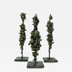 James Anthony Bearden James Bearden Set of Three Cathedral Series Figures - 1006346