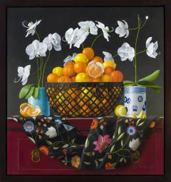 James Aponovich Still Life with Oranges in a Basket - 325255
