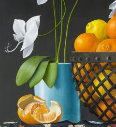 James Aponovich Still Life with Oranges in a Basket - 325257