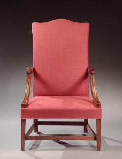 James Campbell Rare Federal Lolling Chair made by James Campbell - 497931