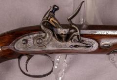 James Collins Cased Pair Flintlock Target Dueling Pistols by Collins of London - 1508688
