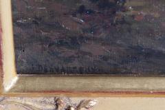 James Desvarreux Larpenteur Oil on Canvas Paturage dans Yonne by James Desvarreux Larpenteur 1847 1947  - 1985993