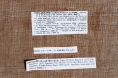 James Desvarreux Larpenteur Oil on Canvas Paturage dans Yonne by James Desvarreux Larpenteur 1847 1947  - 1985998