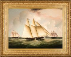 James Edward Buttersworth The Start of the Great 1866 Transatlantic Yacht Race - 300001
