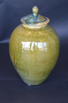 James Fox Collection of Crystalline Glazed Ceramics in Green - 1006936