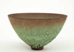 James Lovera James Lovera bowl in a green lave glaze United States - 1207383