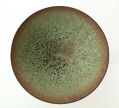 James Lovera James Lovera bowl in a green lave glaze United States - 1207384