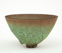 James Lovera James Lovera bowl in a green lave glaze United States - 1207385