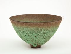 James Lovera James Lovera bowl in a green lave glaze United States - 1207386