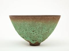 James Lovera James Lovera bowl in a green lave glaze United States - 1207388