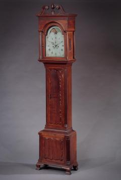 James McDowell CHIPPENDALE TALL CASE CLOCK Case Labeled by James and Daniel McDowell - 1328522
