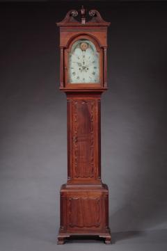 James McDowell CHIPPENDALE TALL CASE CLOCK Case Labeled by James and Daniel McDowell - 1328524