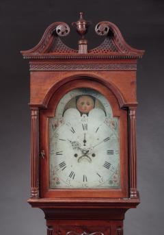 James McDowell CHIPPENDALE TALL CASE CLOCK Case Labeled by James and Daniel McDowell - 1328526
