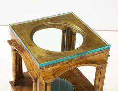 James Mont James Mont Architectural Side Table - 1901136