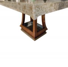 James Mont James Mont Asian Style Dining Table with Custom Oil Lacquer Finish 1940s - 444044