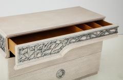 James Mont James Mont Bamboo Frieze Double Dresser - 1078104