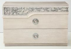 James Mont James Mont Bamboo Frieze Double Dresser - 1078105