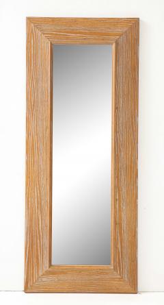 James Mont James Mont Cerused Oak Mirror  - 1197371