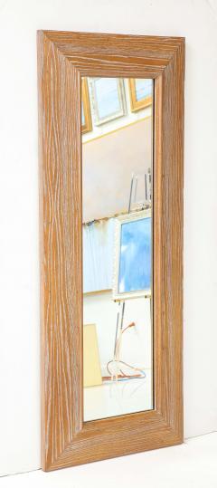 James Mont James Mont Cerused Oak Mirror  - 1197372