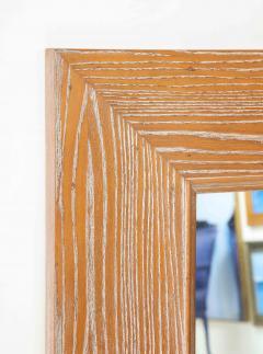 James Mont James Mont Cerused Oak Mirror  - 1197373