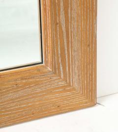 James Mont James Mont Cerused Oak Mirror  - 1197374