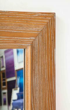 James Mont James Mont Cerused Oak Mirror  - 1197376