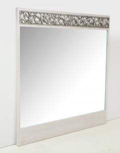 James Mont James Mont Cerused oak Silvered Bamboo Mirror 1 of 2 - 1173501