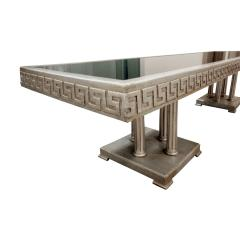 James Mont James Mont Large Coffee Table in White Gold Leaf 1950s - 441388