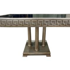 James Mont James Mont Large Coffee Table in White Gold Leaf 1950s - 441391