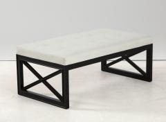 James Mont James Mont Lattice Frame Upholstered Bench - 1652396