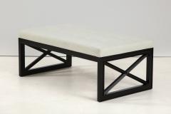 James Mont James Mont Lattice Frame Upholstered Bench - 1652398