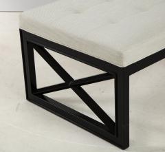 James Mont James Mont Lattice Frame Upholstered Bench - 1652400