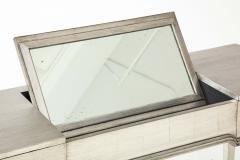 James Mont James Mont Silver Leafed Vanity Desk - 1197238