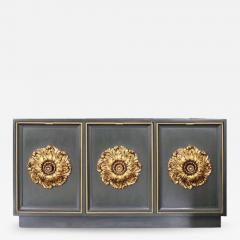 James Mont James Mont Style Lacquered Credenza - 597492