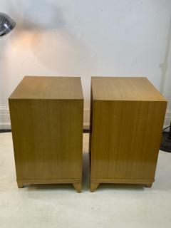 James Mont MID CENTURY WOVEN CANE ACCENT SIDE TABLES NIGHTSTANDS - 1569353