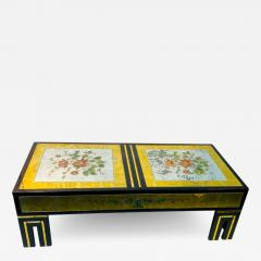 James Mont MODERNIST EGLOMISE COFFEE TABLE BY JAMES MONT - 1688907