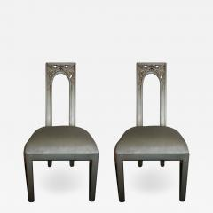 James Mont Pair of James Mont Chairs - 1825685