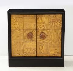 James Mont Pair of James Mont Oak Front Cabinets  - 1924512