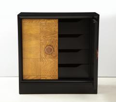 James Mont Pair of James Mont Oak Front Cabinets  - 1924521