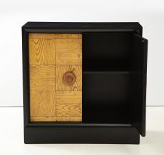 James Mont Pair of James Mont Oak Front Cabinets  - 1924532
