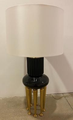 James Mont Pair of Rare James Mont Large Stable Lamps 1950 American Important - 2065894