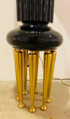 James Mont Pair of Rare James Mont Large Stable Lamps 1950 American Important - 2065902
