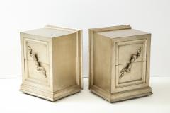 James Mont Spectacular Pair of Rare James Mont Scroll cabinets  - 2112376