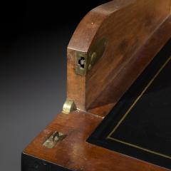 James Newton Pair of Regency Ebonised Marble Top Side Cabinets - 1047822