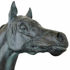 James Osborne Contemporary Patinated Bronze Equestrian Sculpture by James Osborne - 1937793