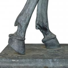 James Osborne Contemporary Patinated Bronze Equestrian Sculpture by James Osborne - 1937794