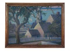 James Scott My Nantucket Oil Canvas - 103756