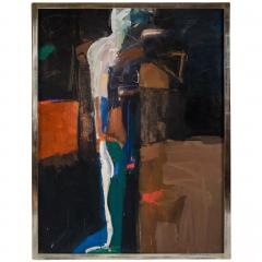 Jamie Chase Large Oil on Canvas Explorer II - 1083642
