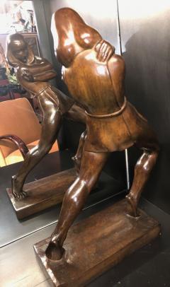 Jan Anteunis Jan Anteunis Art Deco Female Statue Belgian Sculptor - 1386846