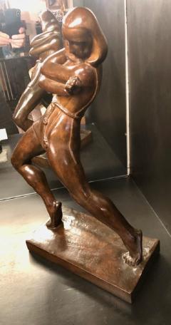 Jan Anteunis Jan Anteunis Art Deco Female Statue Belgian Sculptor - 1386853